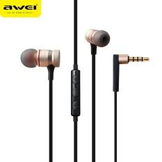 Awei Es-70ty Super Bass In-ear Headphone MIC Kontrol Volume Earphone GD-Intl