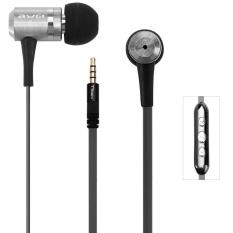 Awei TS-130vi 1.2 M Panjang Kabel In-Ear Earphone dengan MIC Kontrol Suara Untuk-Intl
