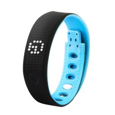 B17 LED Smart Wristband Healthy Sports Bracelet Waterproof Wrist Band Remote Camera Bluetooth Call Reminder Pedometer Individuality Signature Calorie Sleep Monitor Anti Lost False Call for iPhone 6 6S Plus Samsung S6 S7 Plus Smartphones iOS Android - intl