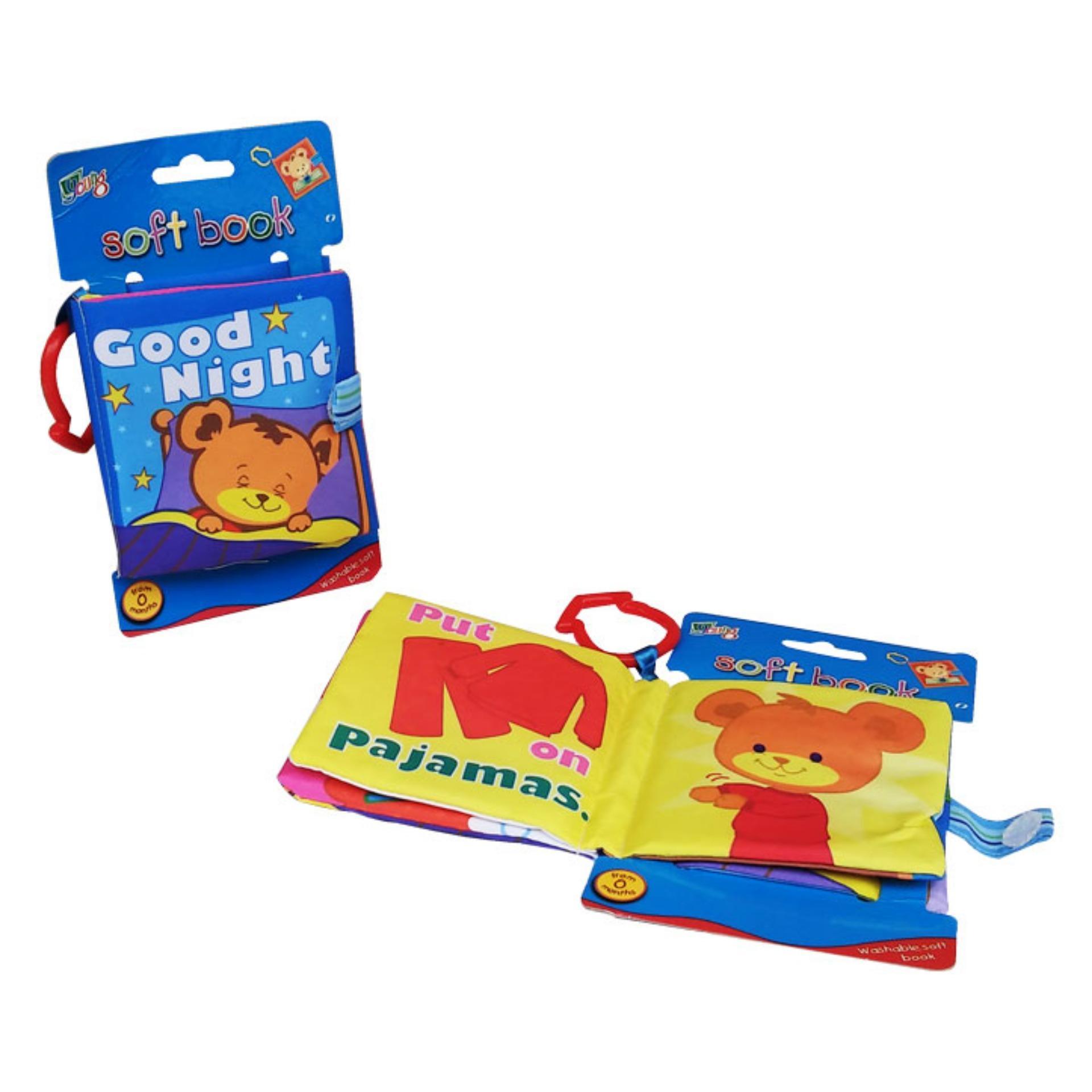 Baby Talk Softbook Good Night Buku Cerita Anak Mainan Edukasi Bayi Murah Eduka Pintar