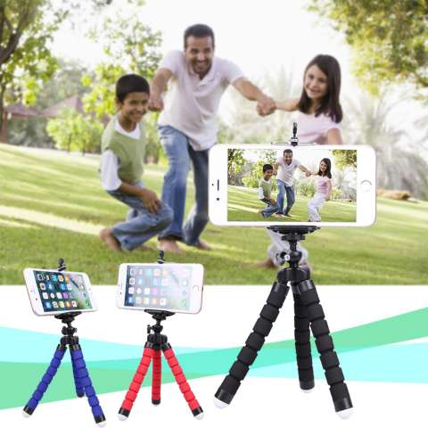 Baby Talk Tripod Flexible Octopus Bracket With Holder Stand Mount for Gopro Camera/SLR /
