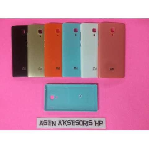 Back Door Xiaomi Redmi Note 1 4G Tutup Belakang Batre / Back Case Hp - 9E557E