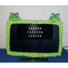 Bando / Cover / Sarung / Bandana / List TV Karakter KEROPY LCD LED 21