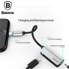 Baseus Audio Cable Converter Lightning Male to 3 5MM IP Female Adapter .
