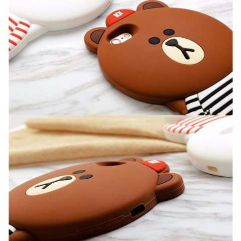 Icantiq Boy Brown Bear 3d Case Apple Iphone5 Iphone 5 Iphone 5g ... - c9c36623de