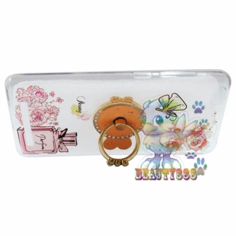 Home; Beauty Case For Oppo A39 Softshell Swarovski Animasi Fish In The Sea + Holder