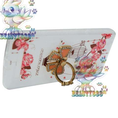 Beauty Case For Xiaomi Redmi 4A Softshell Animasi Vintage Bird + Holder Ring Tape Soft Case