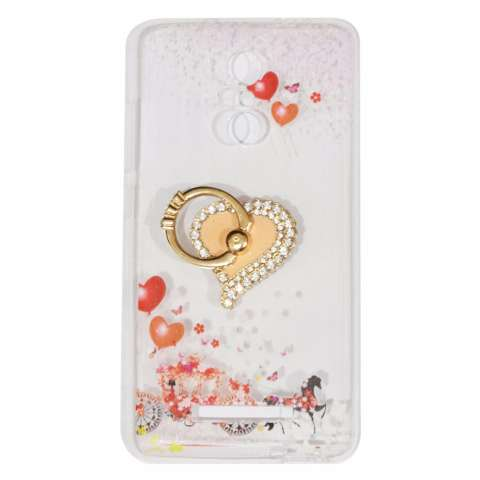 Beauty Case For Xiaomi Redmi Note 3 Softshell Animasi Love + Holder Ring Love Soft Case