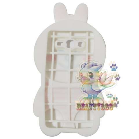 Beauty Cony Bunny Case 3D For Samsung Galaxy Grand 2 G7106 Silicone 3D Boneka Cony Line