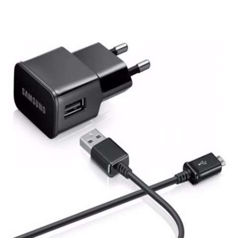 Beauty Samsung S4 I9500 Travel Charger Head + Cable Data Micro For Samsung Galaxy S4 I9500