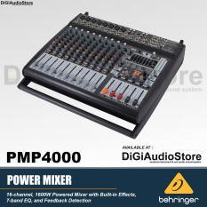 Behringer xenyx PMP4000 [ PMP 4000 ] 16 Channel Powered / Power Mixer Audio Untuk Speaker pasif dan aktif [ PRODUK ORIGINAL , GARANSI RESMI 1 TAHUN