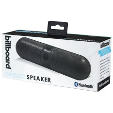 Billboard Bluetooth Wireless Pill Speaker With Enhanced Bass