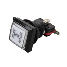 Bkodak Nomor Toko Tombol Push Tombol Ganti LED Illuminated Backlight dengan Microswitch Mesin Permainan Parts DIY Controller-Intl