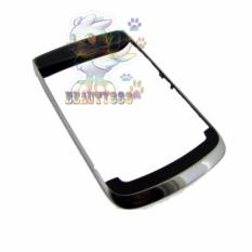 Blackberry Bold 9700 Middle Frame Housing with Top and Down Cover Black Housing Frame Original / Casing Front Hosting Bezel Untuk BB  Bold 9700 / Tulang Bezel Depan BB - Black / Hitam