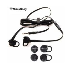 Blackberry Handsfree Headset Setereo for Q5/ Q10/ Z10/ Z30/ BB10 And Smartphone More - Black Original