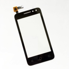(Black)New For Alcatel OT 4034 4034D 4034A 4034E OT4034 OT-4034  Touch Screen Digitizer Accessories+3m Tape+Opening Repair Tools+glue