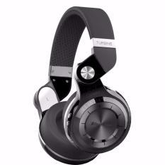 Bluedio T2+ Plus Stereo Bluetooth 4.1 Headset Mic dengan Radio FM - Hitam