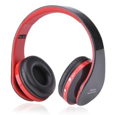 Bluetooth 3.0 Stereo Nirkabel Bluetooth Headset Headphone dengan Panggilan MIC/Mikrofon-Intl