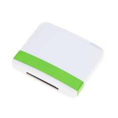 Bluetooth A2DP Musik Audio 30 Pin Receiver Adaptor untuk IPod IPhone IPad Speaker Dock Putih-Intl