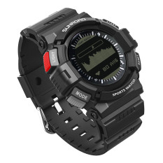Bluetooth V4.0 Sports Heart Rate Watch Waterproof Movement Training Sleep Monitoring Calls Remote Control Camera Event Reminder Function for iPhone 5 6 6s 7 Samsung Galaxy Note 3 4 - intl