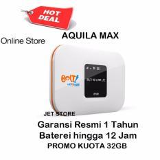 Bolt Aquila Max Modem Wifi 4G LTE 3000Mah- Putih + Bonus Kuota Total 32GB
