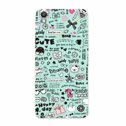 Buildphone Plastik Keras Kembali Casing Ponsel untuk Huawei Ascend Y625 ( Multicolor)-Intl