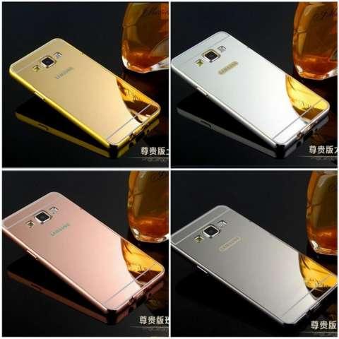 MR Case Bumper Mirror Samsung Galaxy J2 J200 / Case Alumunium Metal Sliding Samsung Galaxy J2