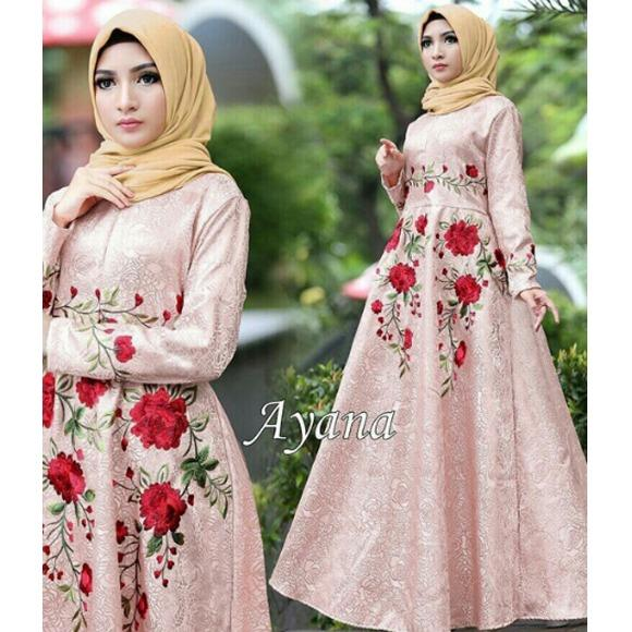 Modern and Trendy Moslem Party Dress - Trendy Gamish