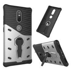 BYT baja hibrida handphone untuk Lenovo Phab2 ditambah dengan 360 derajat berputar standarnya (Silver) - International