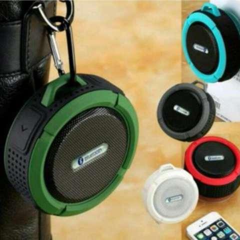 C6 Outdoor Sports Car Portable Waterproof Shockproof Wireless Bluetooth Speaker / Speaker Bluetooth Anti Air dan