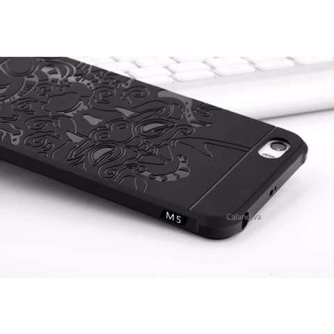 Calandiva Dragon Shockproof Hybrid Case untuk Xiaomi Mi 5 / Mi 5 Pro - Hitam +
