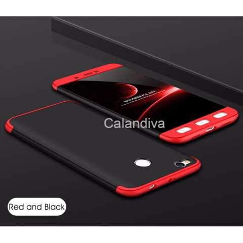 Calandiva Premium Front Back 360 Degree Full Protection Case Quality Grade A for Xiaomi Redmi 4X