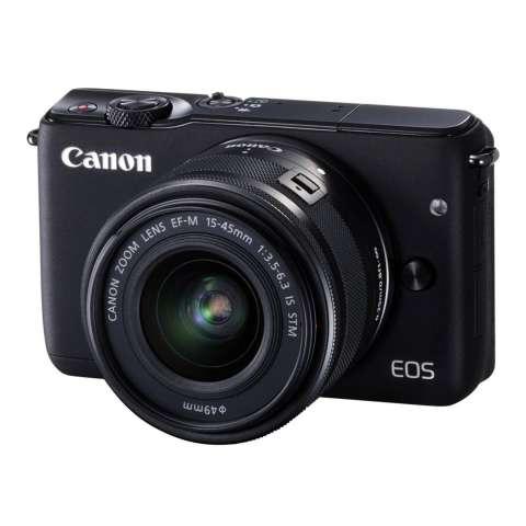 CANON EOS M10 BLACK + EF-M15-45 IS STM Kit Wifi 18MP CMOS Touchscreen Lcd Full Hd (Datascrip) Free Pokemon Pikachu Shoulder Plush + Screen Guard + SanDisk 16gb + Filter 49mm + Camera Bag + Takara ECO-193A 4