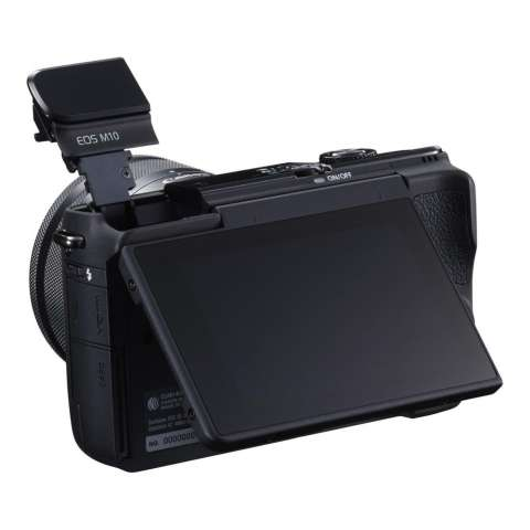 CANON EOS M10 BLACK + EF-M15-45 IS STM Kit Wifi 18MP CMOS Touchscreen Lcd Full Hd (Datascrip) Free Pokemon Pikachu Shoulder Plush + Screen Guard + SanDisk 16gb + Filter 49mm + Camera Bag + Takara ECO-193A 5