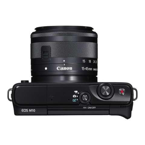 CANON EOS M10 BLACK + EF-M15-45 IS STM Kit Wifi 18MP CMOS Touchscreen Lcd Full Hd (Datascrip) Free Pokemon Pikachu Shoulder Plush + Screen Guard + SanDisk 16gb + Filter 49mm + Camera Bag + Takara ECO-193A 7