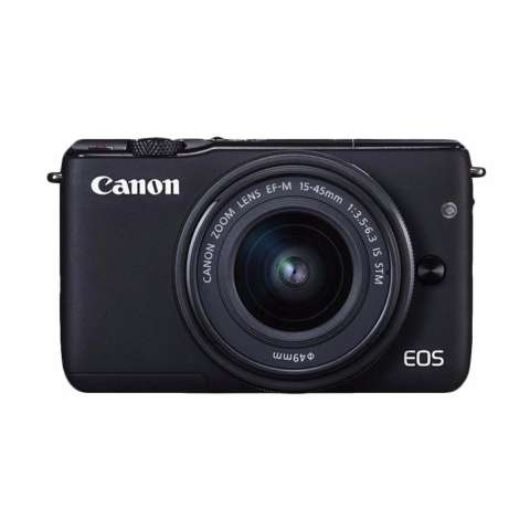 Canon EOS M10 Kit EF-M 15-45mm IS STM Kamera Mirrorless - Black + Free Pokemon Special Edition 1