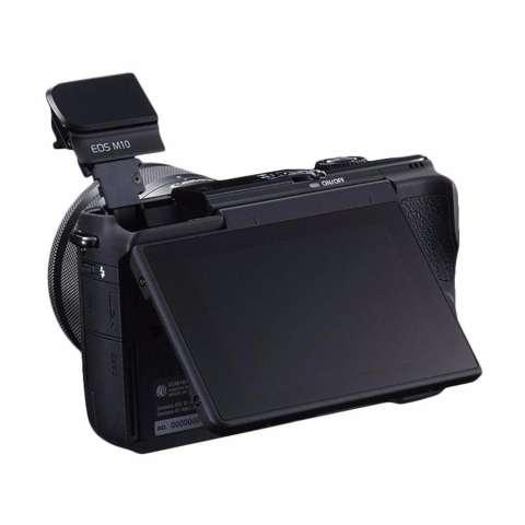 Canon EOS M10 Kit EF-M 15-45mm IS STM Kamera Mirrorless - Black + Free Pokemon Special Edition 3