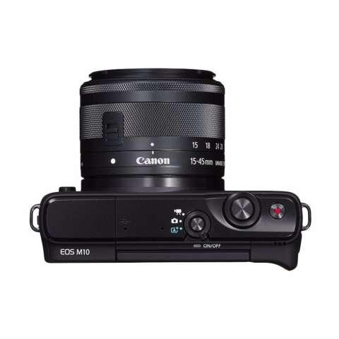 Canon EOS M10 Kit EF-M 15-45mm IS STM Kamera Mirrorless - Black + Free Pokemon Special Edition 2