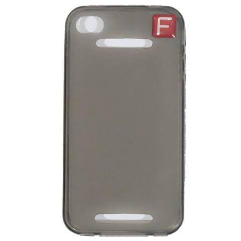 Cantiq Case For Apple iPhone 4G / 4S Soft Jelly Case Air Case 0.3mm / Silicone / Soft Case / Softjacket / Case Handphone / Casing HP - Hitam