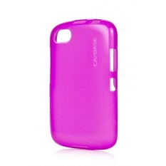 Capdase BlackBerry Samoa 9720 Case, Soft Jacket Lamina - Fuchsia