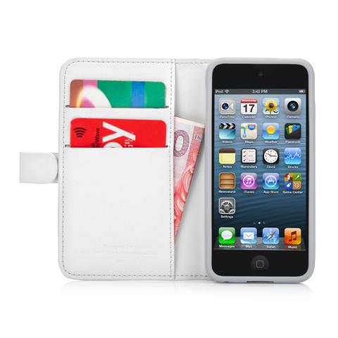 ... Capdase Folder Case for Ipod Touch 5 Sider Polka Putih