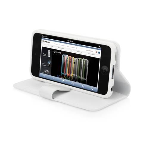 Capdase Folder Case iPod 5 Sider Classic White .