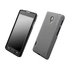 Capdase Soft Jacket Casing for LG Op L7 II Dual E715 - Black