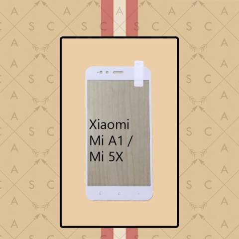 CASA Tempered Glass Warna / Color for Xiaomi Mi A1 / Mi 5X - White