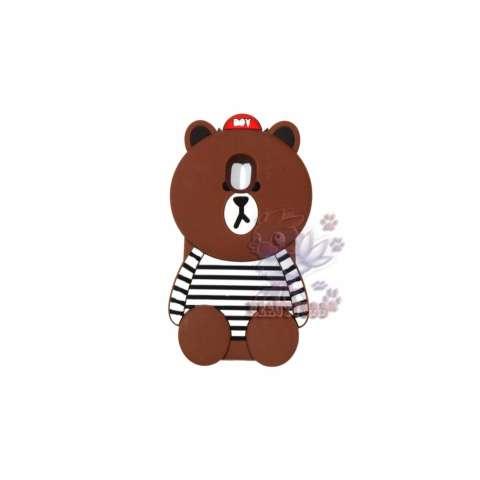 Home; Case 3D Samsung Galaxy J3 Pro Brown Bear Clothes Design List Black