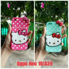 OPPO NEO 10/A39/A57 / CASE BONEKA HELLO KITTY PINK 3D