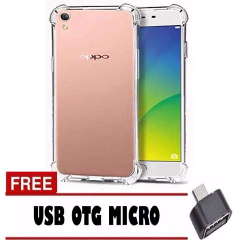 ... Jual Case Anti Shock Anti Crack For Oppo A37 Neo9 Fuze Fyber Clear Free Usb Otg