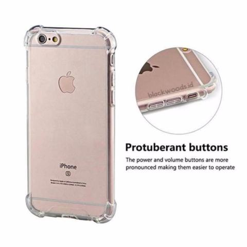 Case Anti Shock Anti Crack Softcase Casing for Asus Zenfone 4 Max Pro ZC554KL - Clear 1