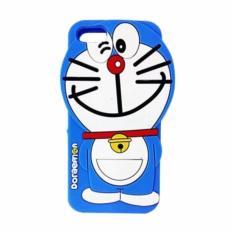 Case Doraemon 3D Softcase Casing for Oppo Neo 7 A33W - Biru