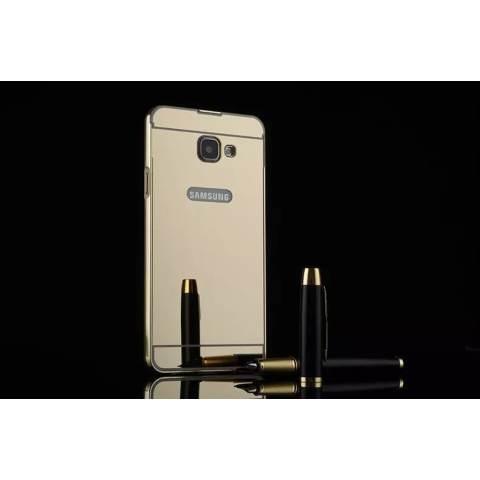... Home Case Elegant Mirror Metal Bumper Sliding For Samsung Galaxy A7 A710 2016